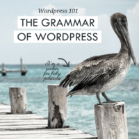 The Grammar of WordPress