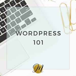 Wordpress 101 by Moonsteam Design