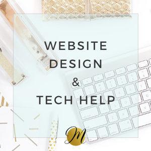 Website Design & Tech Help